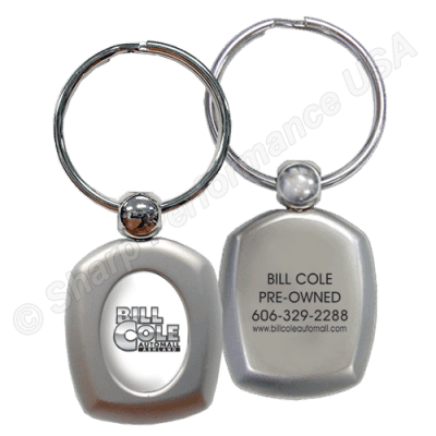 k076 Custom Logo Metal promotional Keychains