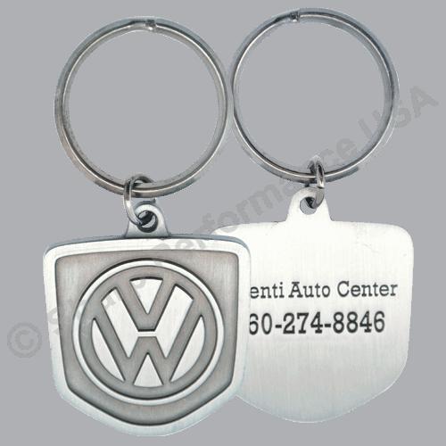 K2208, Custom VW custom dealer keychains, factory direct, unique keychains, metal custom keychains, key holders, Custom key tags, key chains