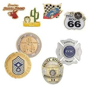 Custom Pins, Coins & Medallions