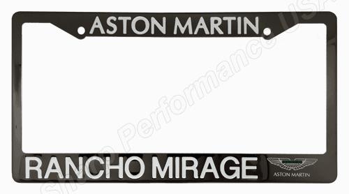 Custom Stamped Stainless Steel License Plate Frames – Gun Metal Finish