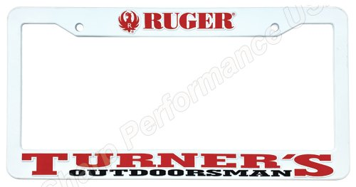 High Quality Plastic License Plate Frame with Raised Pad & Silk Screened Letters Injection Molded ABS Plastic