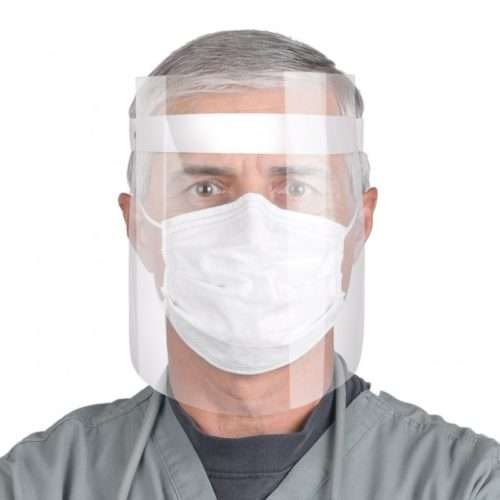 Clear Plastic Face Shield