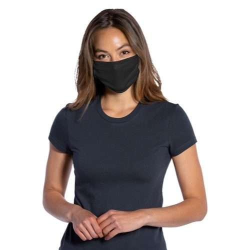 Cotton Knit Face Mask Antimicrobial