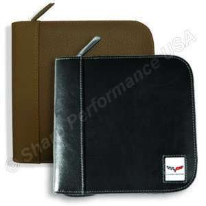 L610 Brown - DVD / CD holder – Split Leather Stock Special - Starting At $10 /piece! Min order 20pcs
