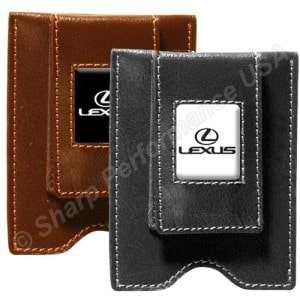 L611 Brown - Magnetic Money Clip Card holder – Split Leather Stock Special - Starting At $8 /piece! Min order 20pcs